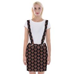 Dark Conversational Pattern Suspender Skirt