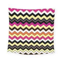 Colorful Chevron Pattern Stripes Square Tapestry (small)