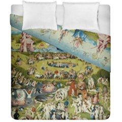 Hieronymus Bosch Garden Of Earthly Delights Duvet Cover Double Side (california King Size)
