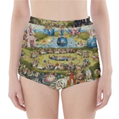 Hieronymus Bosch Garden Of Earthly Delights High Waisted Bikini Bottoms