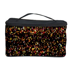 Colorful And Glowing Pixelated Pattern Cosmetic Storage Case