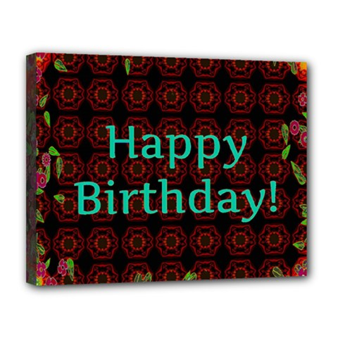 Happy Birthday To You! Canvas 14  X 11