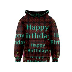 Happy Birthday To You! Kids  Pullover Hoodie