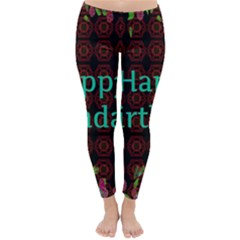 Happy Birthday To You! Classic Winter Leggings