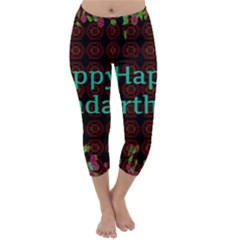 Happy Birthday To You! Capri Winter Leggings