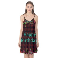 Happy Birthday To You! Camis Nightgown