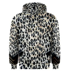 Tiger Background Fabric Animal Motifs Men s Pullover Hoodie