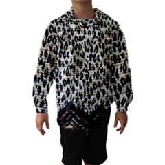 Tiger Background Fabric Animal Motifs Hooded Wind Breaker (kids)