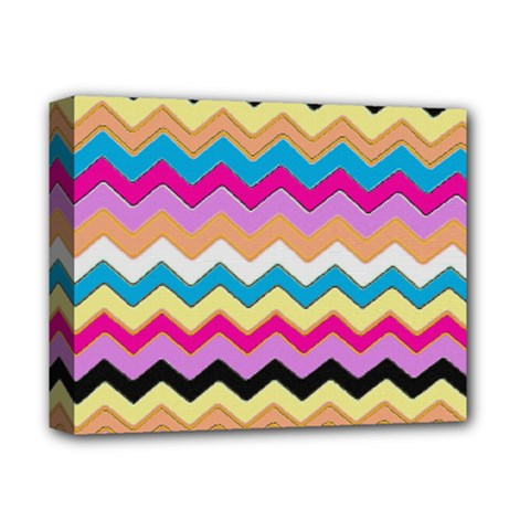 Chevrons Pattern Art Background Deluxe Canvas 14  X 11