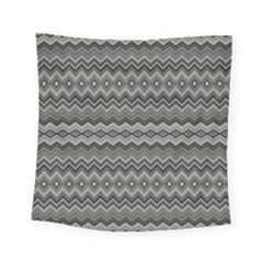 Greyscale Zig Zag Square Tapestry (small)