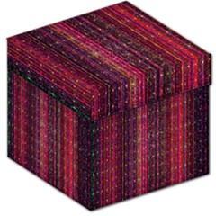 Colorful And Glowing Pixelated Pixel Pattern Storage Stool 12