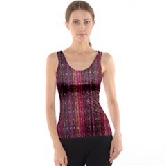 Colorful And Glowing Pixelated Pixel Pattern Tank Top