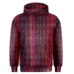 Colorful And Glowing Pixelated Pixel Pattern Men s Pullover Hoodie