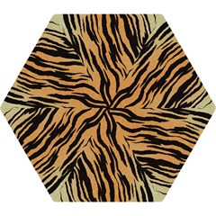 Tiger Animal Print A Completely Seamless Tile Able Background Design Pattern Mini Folding Umbrellas