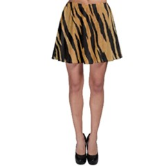 Tiger Animal Print A Completely Seamless Tile Able Background Design Pattern Skater Skirt
