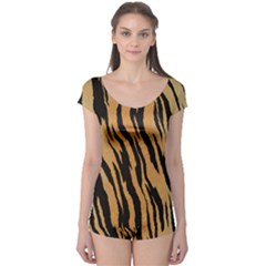 Tiger Animal Print A Completely Seamless Tile Able Background Design Pattern Boyleg Leotard
