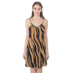 Tiger Animal Print A Completely Seamless Tile Able Background Design Pattern Camis Nightgown