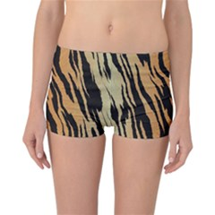 Tiger Animal Print A Completely Seamless Tile Able Background Design Pattern Reversible Bikini Bottoms