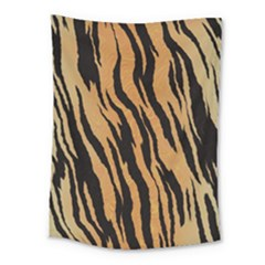 Tiger Animal Print A Completely Seamless Tile Able Background Design Pattern Medium Tapestry