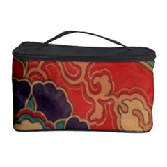Vintage Chinese Brocade Cosmetic Storage Case