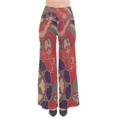 Vintage Chinese Brocade Pants