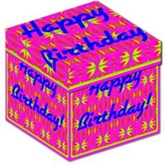Happy Birthday! Storage Stool 12