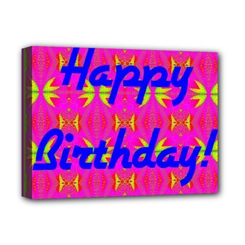 Happy Birthday! Deluxe Canvas 16  X 12