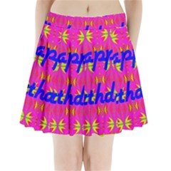 Happy Birthday! Pleated Mini Skirt