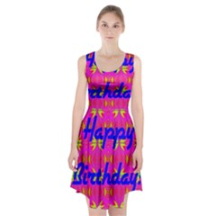 Happy Birthday! Racerback Midi Dress