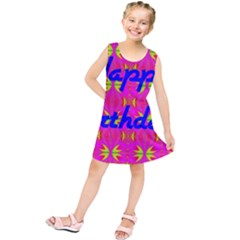 Happy Birthday! Kids  Tunic Dress