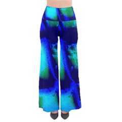 Blue Scales Pattern Background Pants