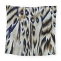 Tiger Background Fabric Animal Motifs Square Tapestry (Large) View1
