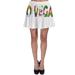 Go vegan Skater Skirt