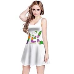 Go vegan Reversible Sleeveless Dress