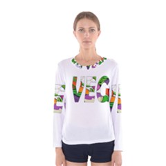 Go vegan Women s Long Sleeve Tee