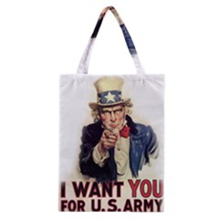 Uncle Sam Classic Tote Bag