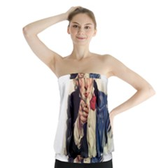 Uncle Sam Strapless Top
