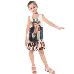 Uncle Sam Kids  Sleeveless Dress