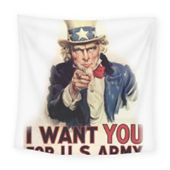 Uncle Sam Square Tapestry (Large)