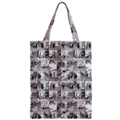 Old comic strip Zipper Classic Tote Bag