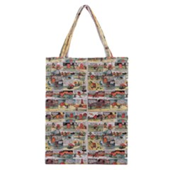 Old comic strip Classic Tote Bag