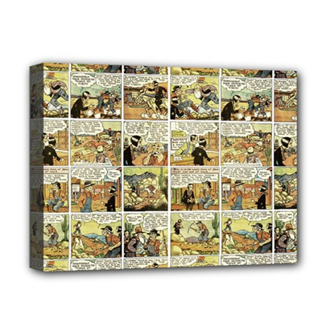 Old comic strip Deluxe Canvas 16  x 12