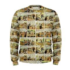 Old comic strip Men s Sweatshirt