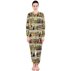 Old comic strip OnePiece Jumpsuit (Ladies)
