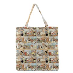 Old comic strip Grocery Tote Bag