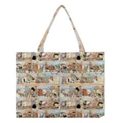 Old comic strip Medium Tote Bag