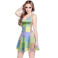 Old Quilt Reversible Sleeveless Dress