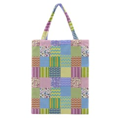 Old Quilt Classic Tote Bag