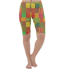 Old Quilt Cropped Leggings