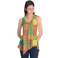 Old Quilt Sleeveless Tunic